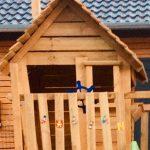 Spielhaus-Holz